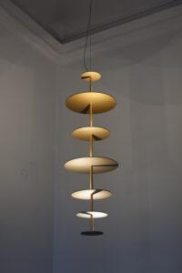 5 P Maarten de Ceulaer Sundial Chandelier by Teri Romkey 2 of 1