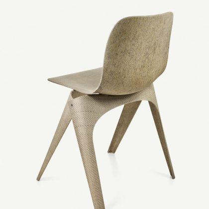 Christien Meindertsma Flax Chair