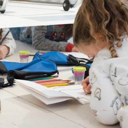 Kleurwedstrijd Kunstendag voor Kinderen
