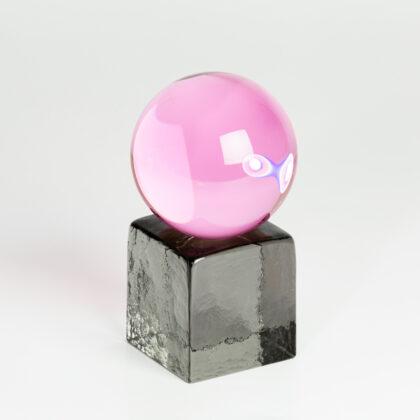 Swedish Ninja Oh My mini glass sculpture