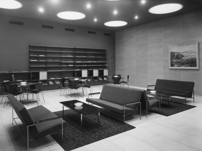 Remy Bauters La Maison leeszaal 1961