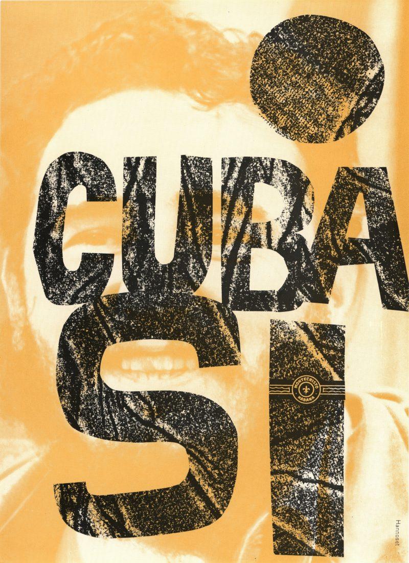 Corneille Hannoset Cuba Si flyer