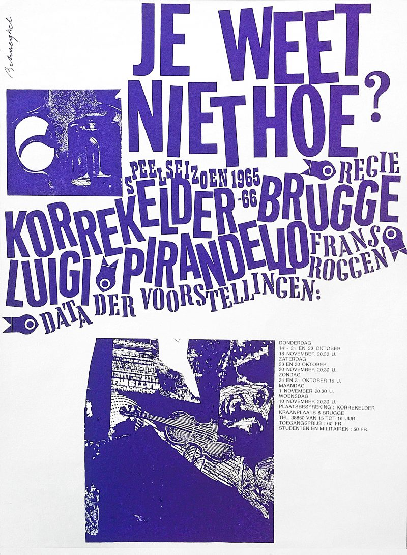 Jeanine Behaeghel poster 1965