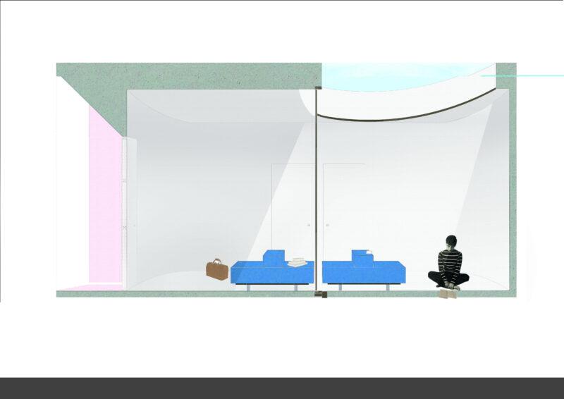 Elisabeth Impens - Time as design component. A space for Maarten Van Severen's Blue Bench
