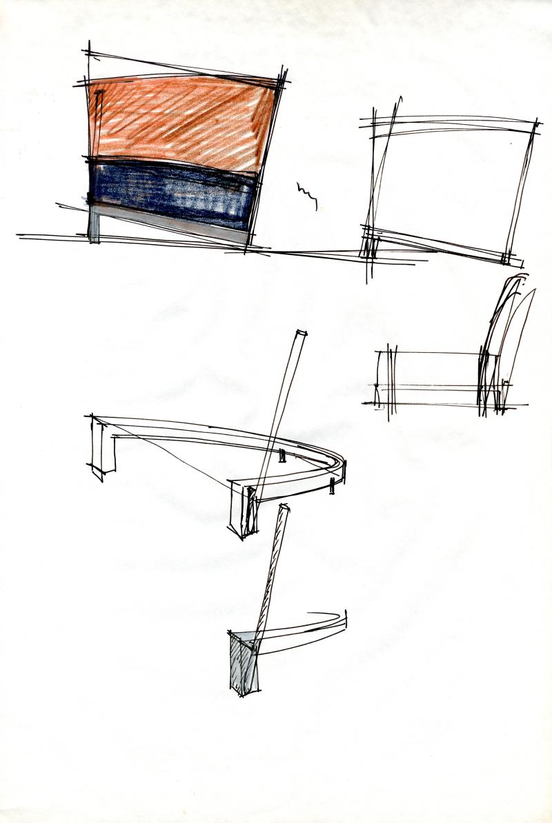 schets van F88 © The Maarten Van Severen Foundation