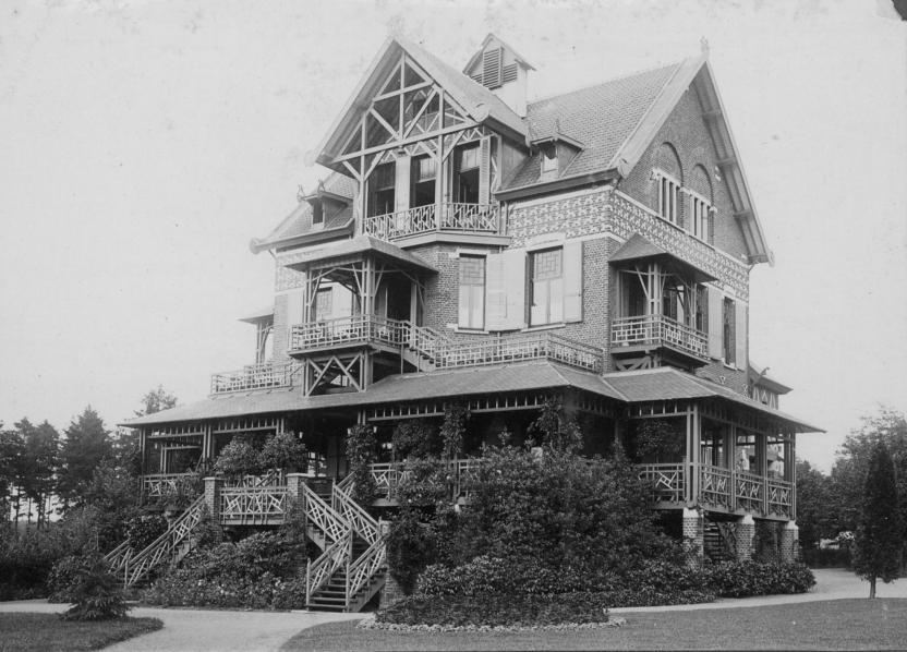 De villa's van Max en Albert Wolfers