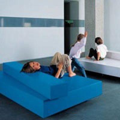 Van Severen Blue Bench