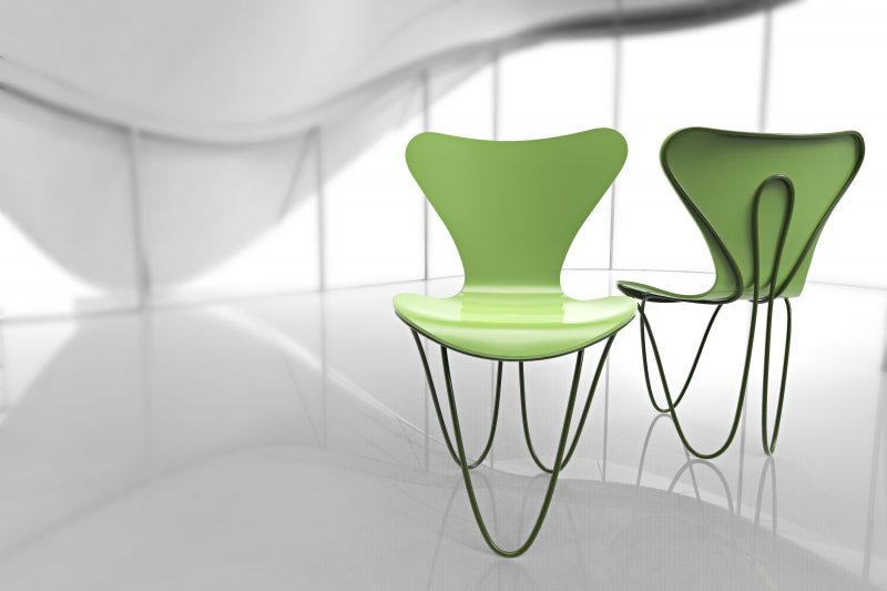 Interpretations Of Series 7 Chair Of Arne Jacobsen By Seven Renowned Architects
