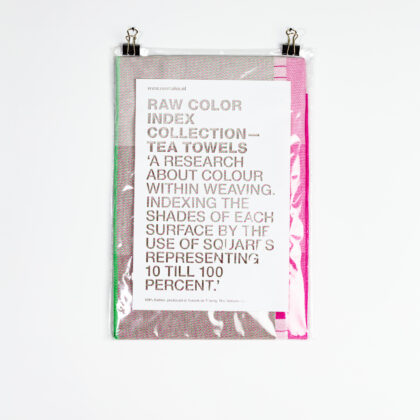 Raw Color Tea Towel