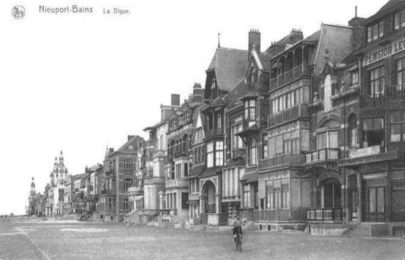 Other cottages along the road from Nieuwpoort-Bad to Nieuwpoort-Stad, in the period between 1923 and 1940