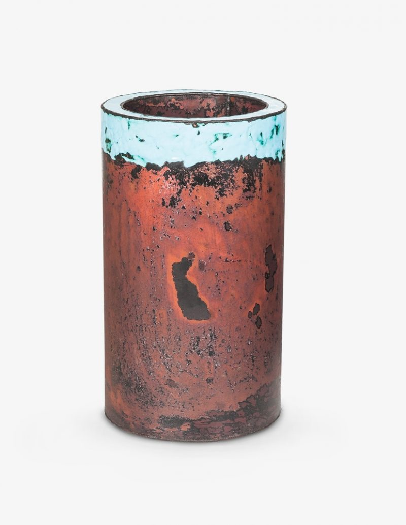 K Lee Copper Vase B
