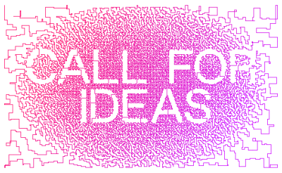 Call for ideas |  Future Architecture