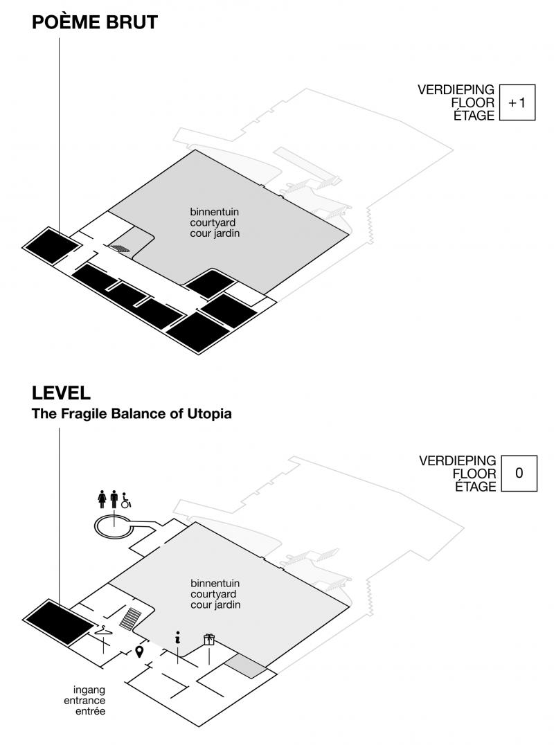 Plan Hotel De Coninck
