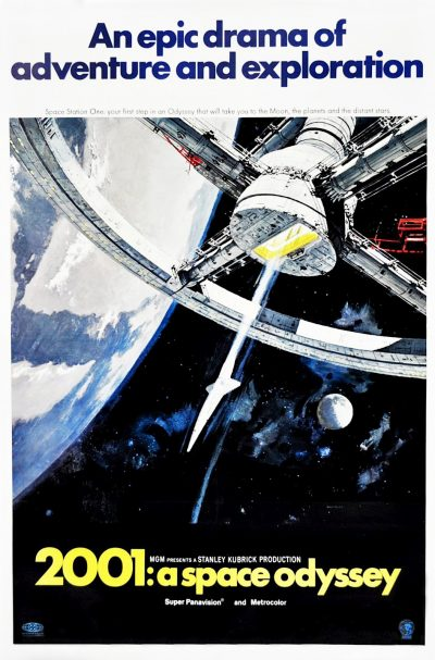2001 A Space Odyssey 1968 Space Station One By Robert Mc Call