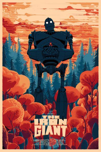 Iron Giant Movie Poster