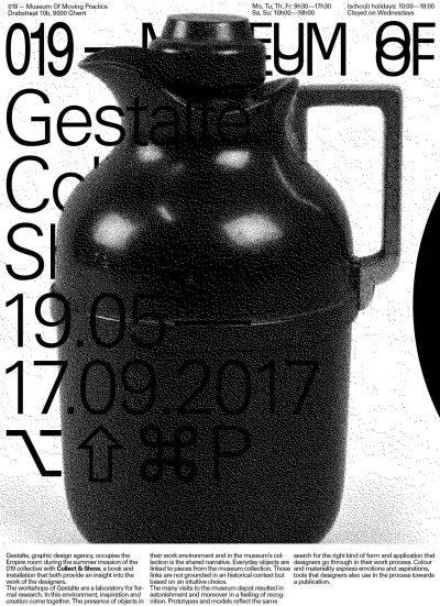 Gestalte/Grafisches Design: Collect & Show