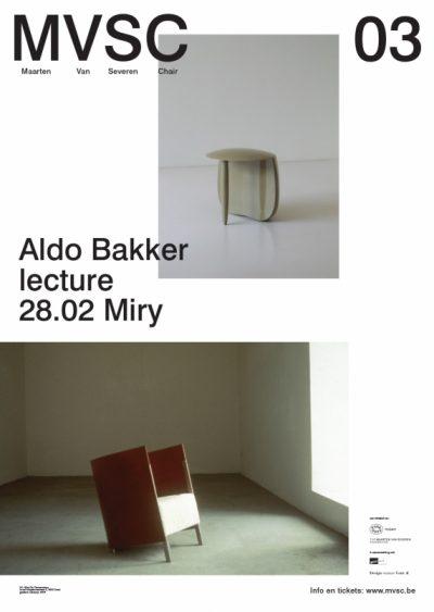 MVSC 03 / Aldo Bakker