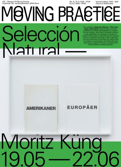 Moritz Küng: Selección Natural – This is the Cover of the Book