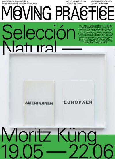 Moritz Küng: Selección Natural – This is the Cover of the Book