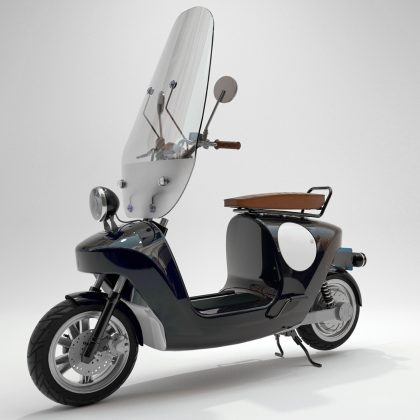 Be.e Frameless Biocomposite Electric Scooter Design By Waarmakers